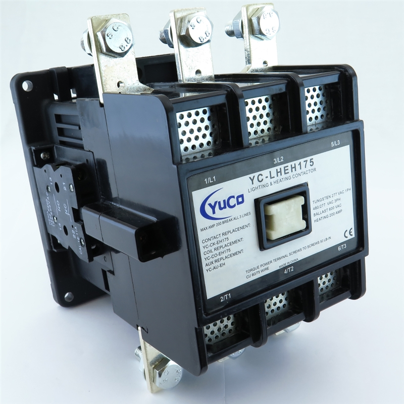 YuCo Lighting & Heating Magnetic Contactor with Mechanical Lugs